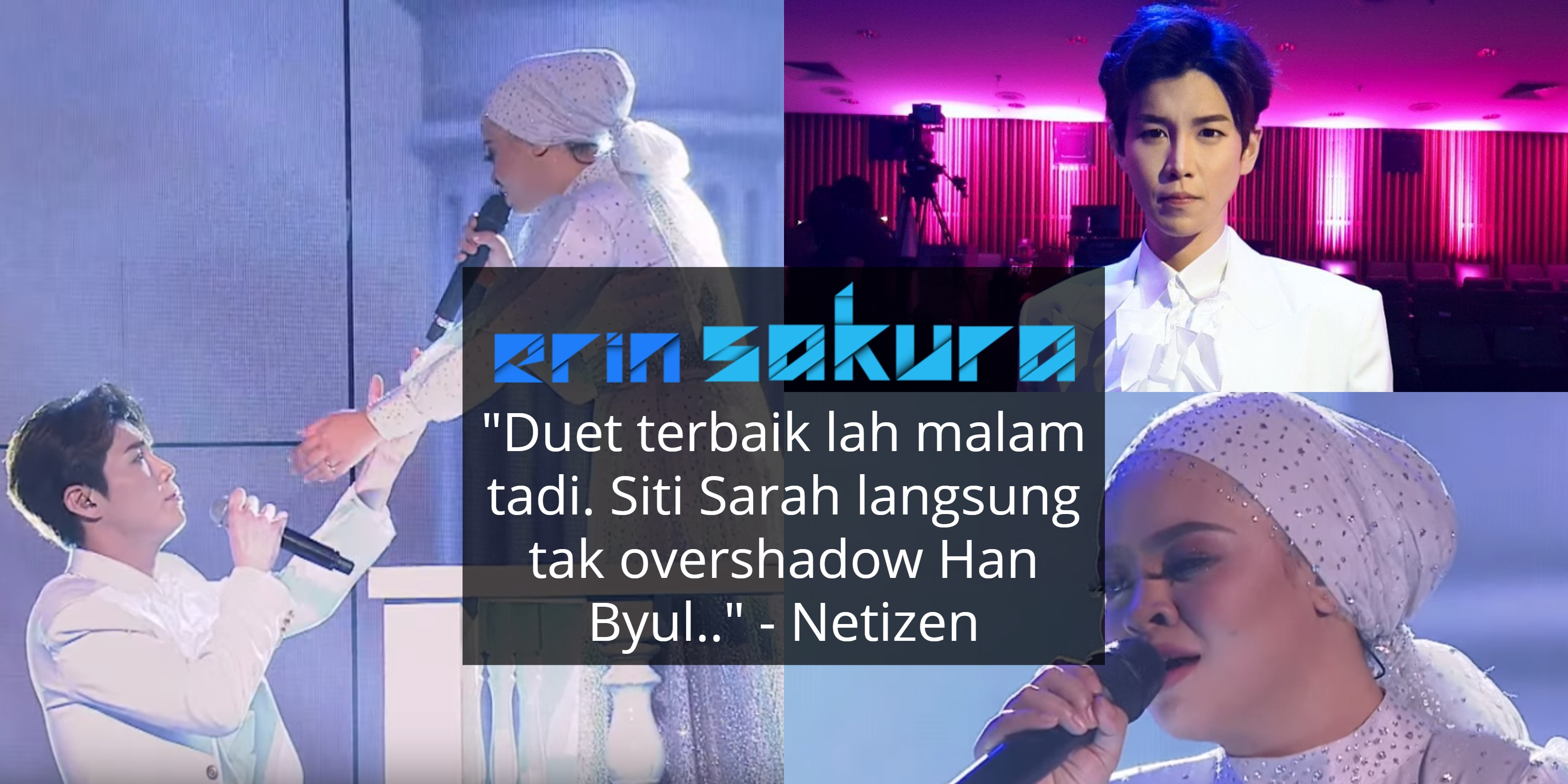 "[VIDEO] ""High Note Tu Mantap!""- Duet Sarah & Han Byul Curi Tumpuan Di Big Stage"