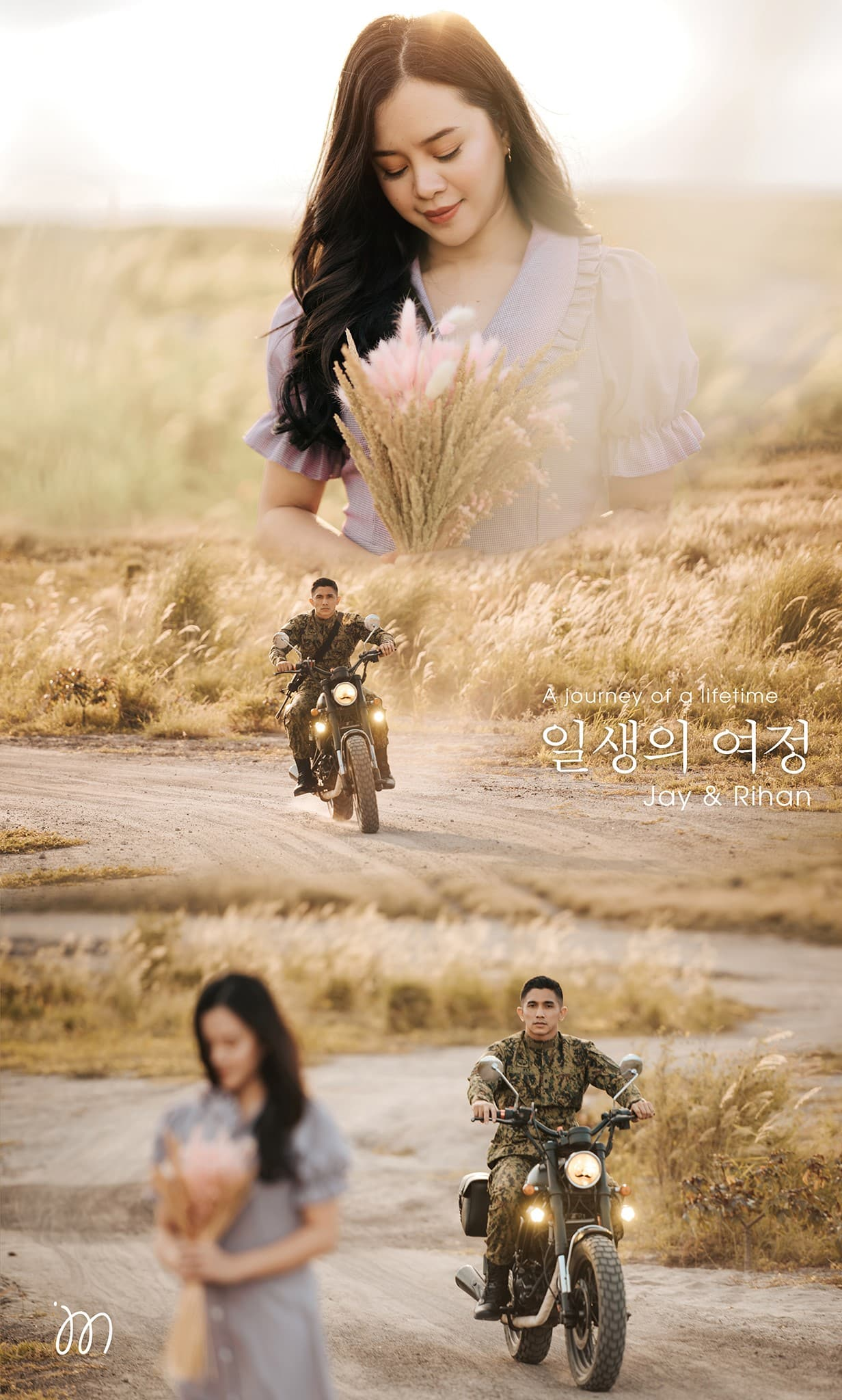 [FOTO] Penangan 'Crash Landing On You', Siap Jadi Tema Pre-Wedding Abam Tentera